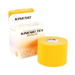 Taśma kinezjologiczna Kinesio Tex Gold Light Touch+ 5cm x 5m pomarańczowy