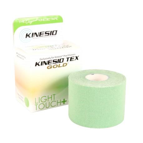 Taśma kinezjologiczna Kinesio Tex Gold Light Touch+ 5cm x 5m zielony