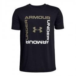 Koszulka UA Box Logo Boys SS 1329099 001