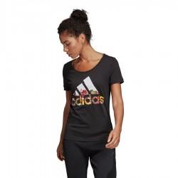 Koszulka adidas BOS Flower Tee DX2535