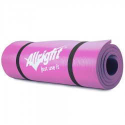Mata do fitnessu NBR 180x60x1,5 Pink
