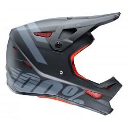 Kask full face 100% STATUS DH/BMX Helmet black meteor roz. XL