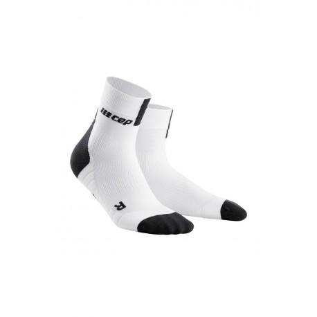 Skarpety krótkie męskie CEP 3.0 do biegania białe