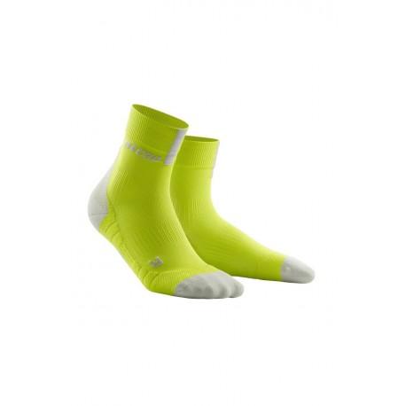 Skarpety krótkie męskie CEP 3.0 do biegania zielone