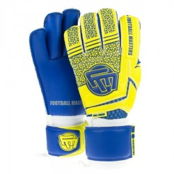 Rękawice bramkarskie FM Voltage Yellow Blue Contact Grip 4 MM RF v 2