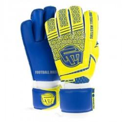 Rękawice bramkarskie FM Voltage Yellow Blue Contact Grip 4 MM RF v 2 7 żółto-niebieskie
