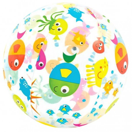 Zabawka piłka z nadrukiem średnia 51 cm