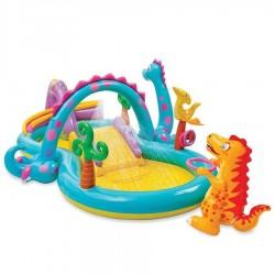 Zabawka Nadmuchiwany plac zabaw Dinoland 333x229x112 cm 57135