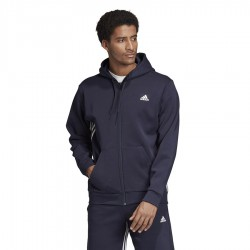 Bluza adidas M MH 3S FZ EK4543