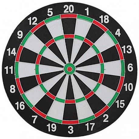 Tarcza dart sizalowa 30 cm + 6 rzutek