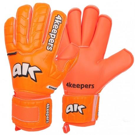 Rękawice 4keepers Champ Colour Orange IV RF + płyn czyszczący