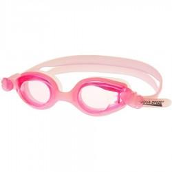 Okulary pływackie Ariadna rózowy/różowe szkła
