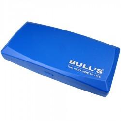 Rzutki Bull's Soft +  Etui niebieskie  +części zamienne