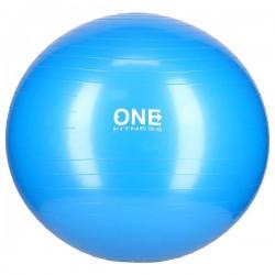 GYM BALL 10 65CM BLUE PIŁKA GIMNASTYCZNA ONE FITNESS