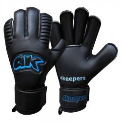 Rękawice 4keepers Retro Black II Roll Finger + płyn S622463