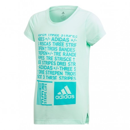 Koszulka adidas YG Graph Tee DJ1093