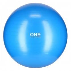 GYM BALL 10 75CM BLUE  PIŁKA GIMNASTYCZNA ONE FITNESS