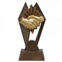 Statuetka Uścisk dłoni Tryumf