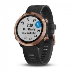 Garmin Forerunner 645 Music Rose-Gold with Black Band