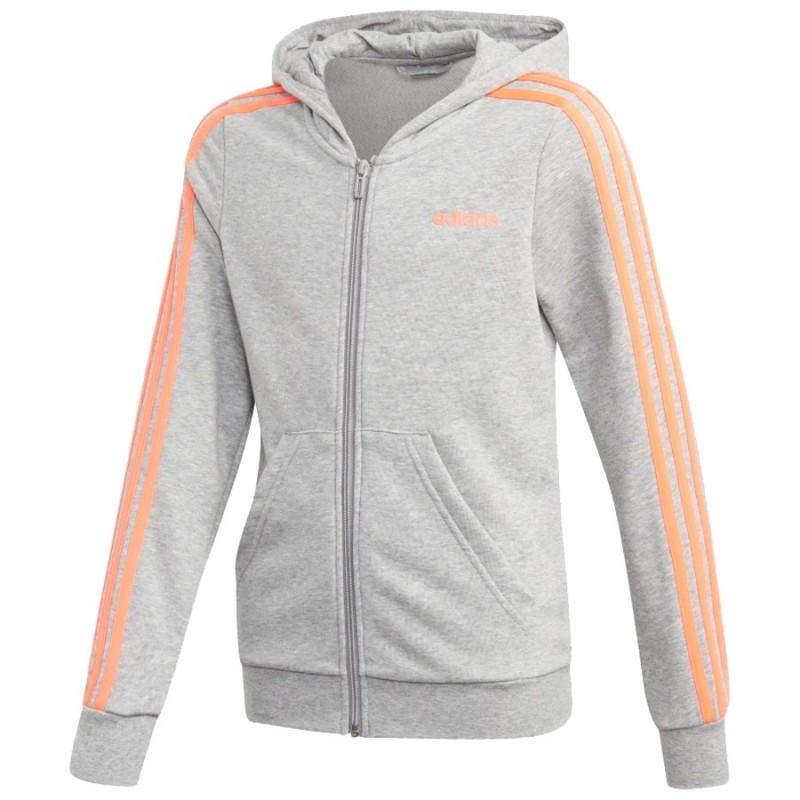 Bluza adidas YG E 3S FZ HD FM6988 Center of Sport