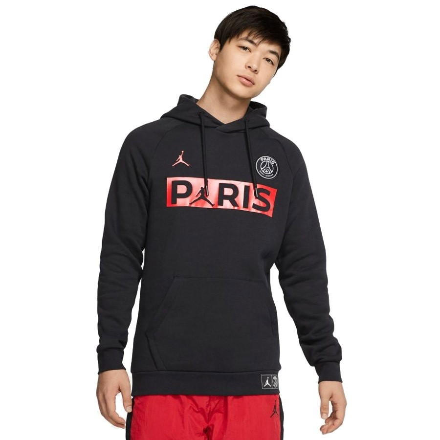 Bluza Nike M Jordan PSG Jumpman FLC PO BQ8350 011 Center of Sport