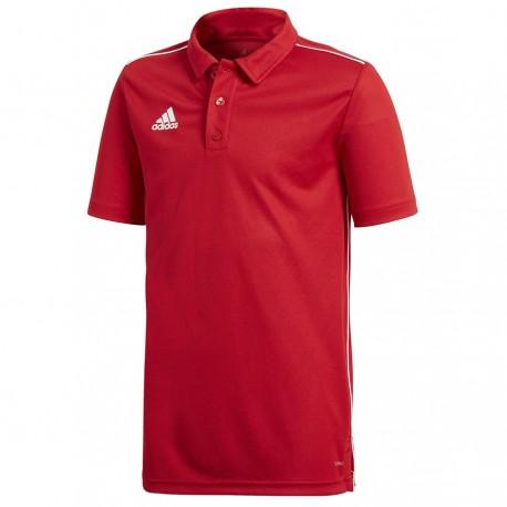 Koszulka Polo adidas Core 18 Y CV3681