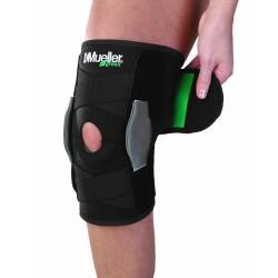 Stabilizator kolana regulowany z zawiasami Mueller green