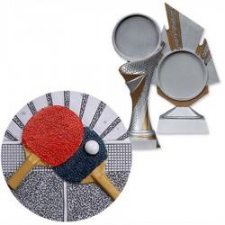 Emblemat Blaze tenis stołowy Biemans 70mm