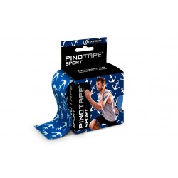 Taśma kinezjologiczna Pino Tape Pro Sport 5 cm x 5 m kotwice