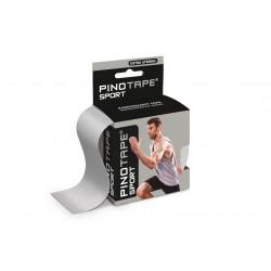 Taśma kinezjologiczna Pino Tape Pro Sport 5 cm x 5 m srebrna