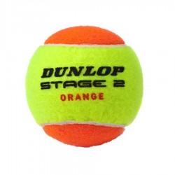 Piłka tenisowa Dunlop Stage 2 Orange