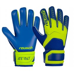 Rękawice bramkarskie Reusch Attrakt SD Open Cuff LTD Junior 50 72 563 2199