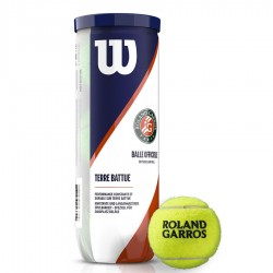 Piłka tenisowa Wilson Roland Garos Clay Court 3