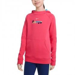 Bluza Nike FC Barcelona  Fleece Pullover Soccer Hoodie CI9533 646