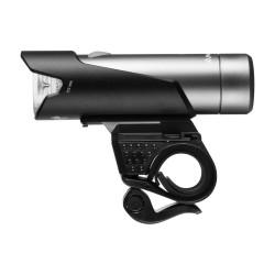 Lampa rowerowa przednia, Mactronic NOISE XTR 04, 712 lm, ładowalna, zestaw (akumulator, uchwyt), blister