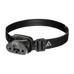 Latarka czołowa, Mactronic NOMAD 02, 340 lm, bateryjna (3x AAA), zestaw (baterie), kolor czarny, blister