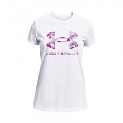 Koszulka UA Y Tech Big Logo Print Fill SS 1363661 100