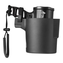 Latarka szperacz, Mactronic X-PISTOL RC 02, 600 lm, ładowalna, zestaw (uchwyt montażowy, akumulator, kabel USB, pasek na rękę),