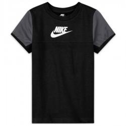 Koszulka Nike Sportswear Mixed Material Big Kids' (Boys') Short-Sleeve Top DA0619 010