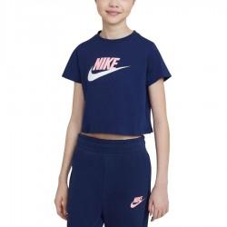 Koszulka Nike Sportswear Big Kids' (Girls') Cropped T-Shirt DA6925 492