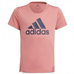 Koszulka adidas Girls D2M Big Logo T-shirt GN1441