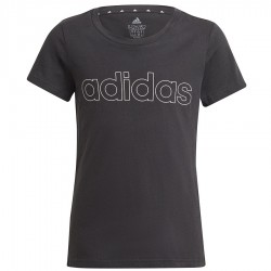 Koszulka adidas Girls Essentials Logo Tee GN4042