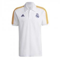 Koszulka adidas polo Real Madryt 3 Stripes GR4242
