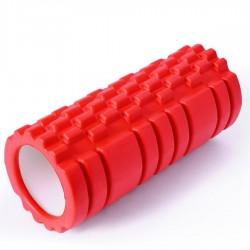 Wałek do masażu SMJ 14x33 cm czerwony YG021-A