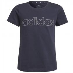 Koszulka adidas Girls Essentials Logo Tee GS0186