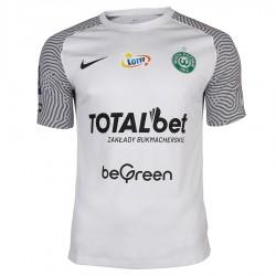 Koszulka meczowa Jr Warta Poznań 2021/22 biała S762613
