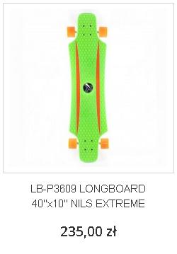 LB-P3609 LONGBOARD 40''x10'' NILS EXTREME